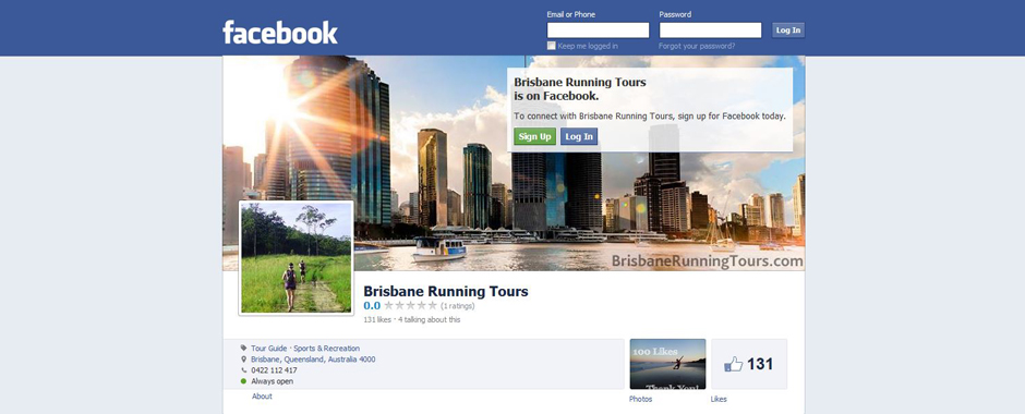 Brisbane Running Tours is on Facebook